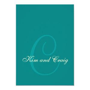 #1 Wedding Invitation - Monterey 5