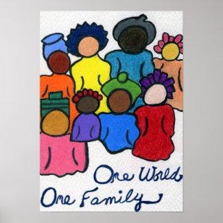 1 World, 1 Family Poster
