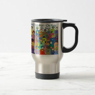 1 World 1 Family Stainless Steel Mug