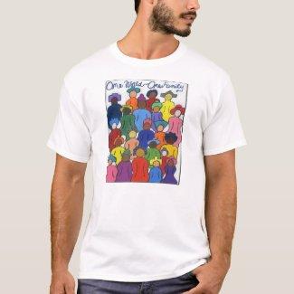 1 World, 1 Family T Shirt
