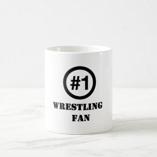 # 1 Wrestling Fan Classic White Coffee Mug