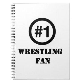 # 1 Wrestling Fan Spiral Notebook