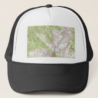 1 x 2 Degree Topographic Map Trucker Hat