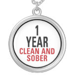 1 Year Clean and Sober Pendant