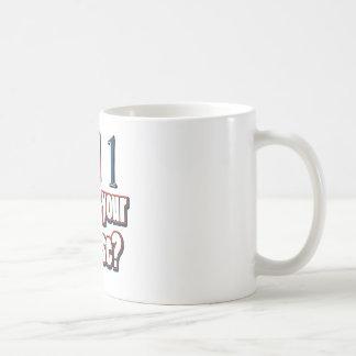 1 year old birthday designs coffee mug