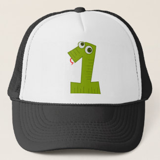 1 year old birthday trucker hat