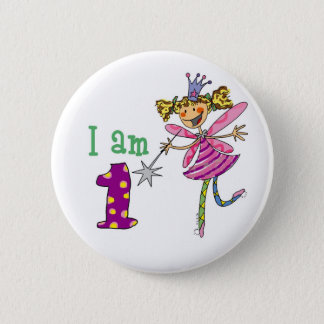 1 year old princess fairy button