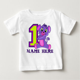 1 YEAR OLD T SHIRT,12 MONTH OLD T SHIRT,ONE YEAR TSHIRTS