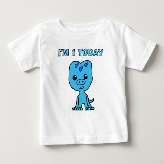 1 Year Old Triceratop T-Shirt