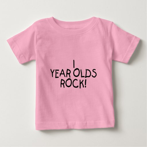 1 Year Olds Rock Infant T-shirt