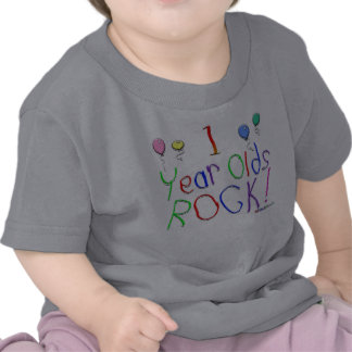 1 Year Olds Rock ! T-shirt