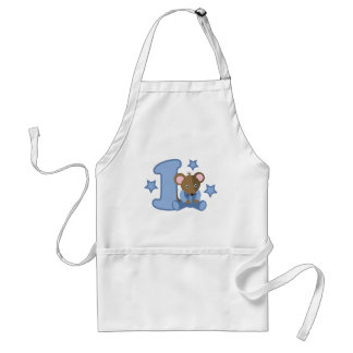 1 Yr Old Baby Mouse Birthday Gift Adult Apron