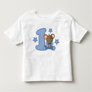 1 Yr Old Baby Mouse Birthday Gift Toddler T-shirt