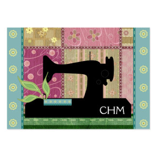 #1A - Sewing / Quilting Card - SRF Business Card Templates