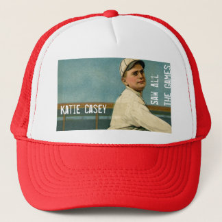 1ac. Katie Casey Saw All the Games Trucker Hat