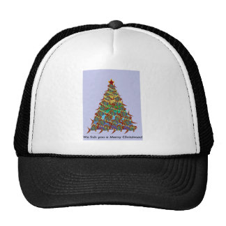 1aFishTree, We fish you a Merry Christmas! Trucker Hat