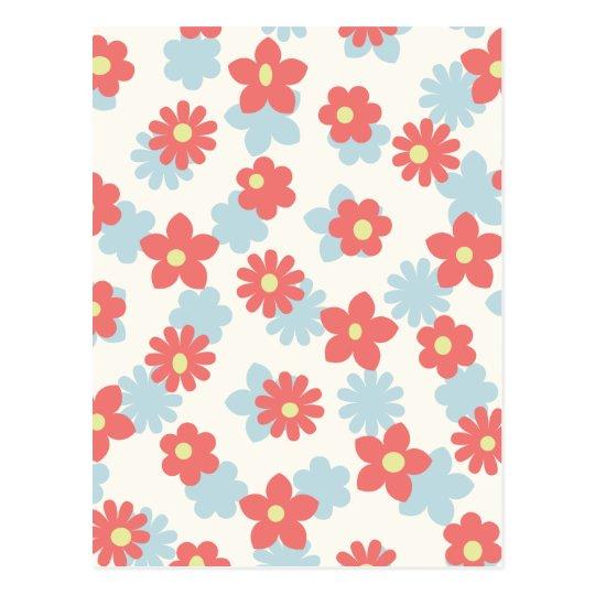 1ai Florals Postcard
