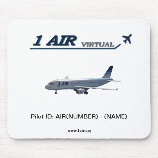 1Air pilota la identificación MousePad Alfombrilla De Ratón