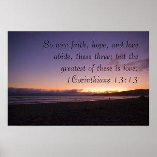 1Corinthians 13:13 print