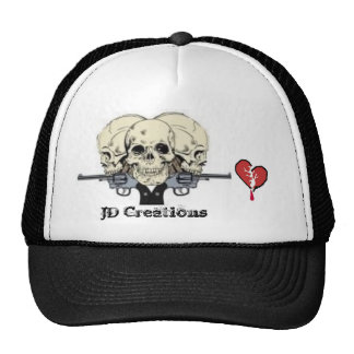 1d8wh 3 (2), broken-heart, JD Creations Trucker Hat
