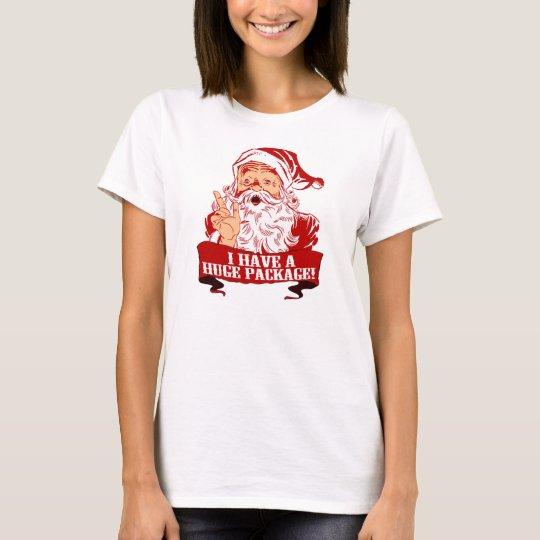 1d Retro Santa Claus Huge Package T-Shirt