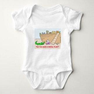 1dentalplanCOLgreetcopyright Baby Bodysuit