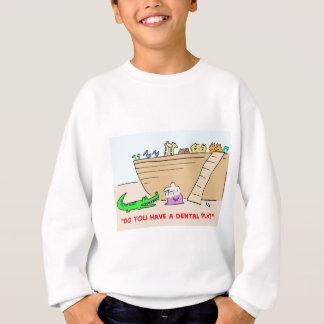 1dentalplanCOLgreetcopyright Sweatshirt
