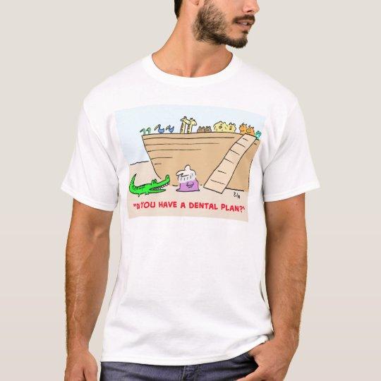 1dentalplanCOLgreetcopyright T-Shirt