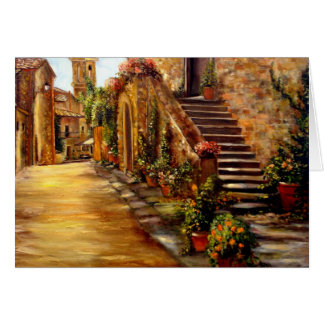 1DSC00004, Villa Toscana by robinrosner.com Greeting Card
