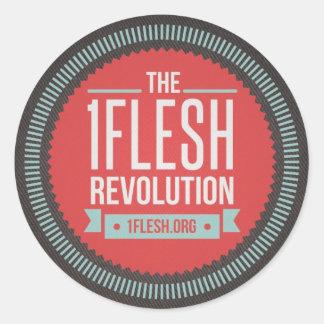 1Flesh Revolution Sticker