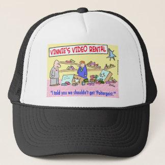 1getpoltergeistCOLgreetcopyright Trucker Hat