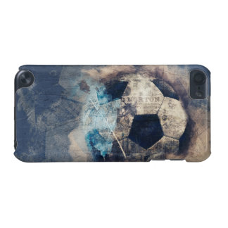 1h iPhone Case Abstract Blue Grunge Soccer