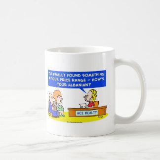 1howsyouralbanianCOLgreetcopyright Coffee Mug