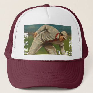 1i. Take Me Out To The Ballgame Commemorative Trucker Hat