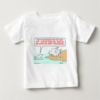 1initiatereentryproceduresCOLgreetcopyright Baby T-Shirt
