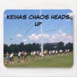 1INTHEAIR, KEIHAS CHAOS HEADS UP MOUSE PAD