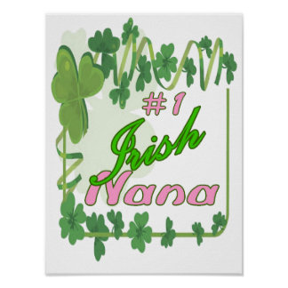 #1IrishNana Poster