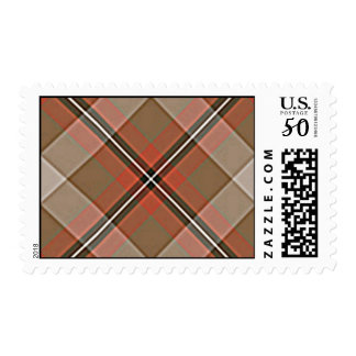1JPEG BROWN RED WHITE BLACK PLAID PATTERN TEXTURES POSTAGE