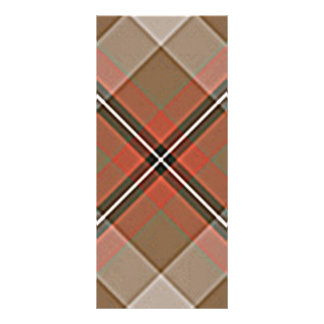 1JPEG BROWN RED WHITE BLACK PLAID PATTERN TEXTURES RACK CARD