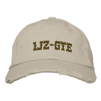 1JZ-GTE EMBROIDERED BASEBALL HAT