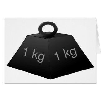 1KG Weight Note Cards