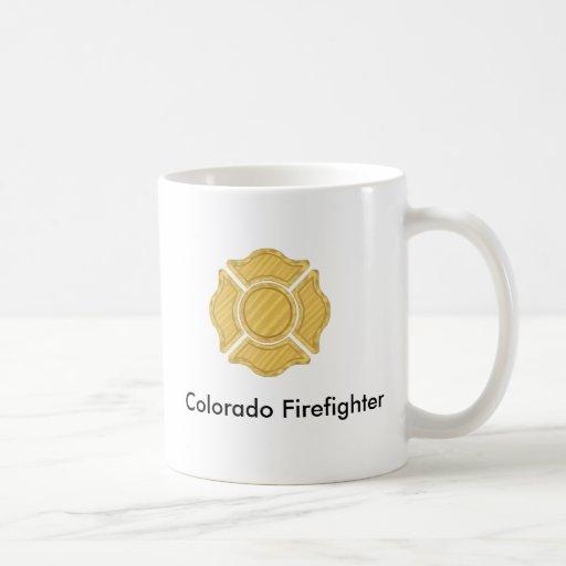 1LOGO11, bombero de Colorado Taza