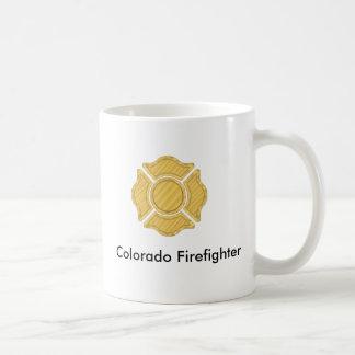 1LOGO11, Colorado Firefighter Classic White Coffee Mug