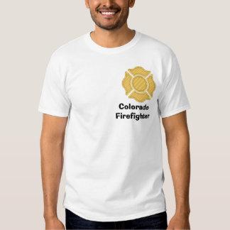 1LOGO11, ColoradoFirefighter T-Shirt