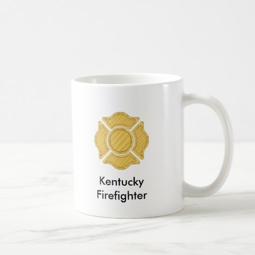 1LOGO11,      Kentucky     Firefighter Classic White Coffee Mug