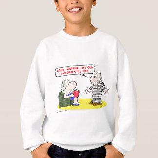 1lookmarthamyolduniformstillfitsCOLgreetcopyright Sweatshirt