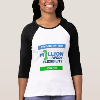 1MFWF Womens 3/4 Sleeve TShirt