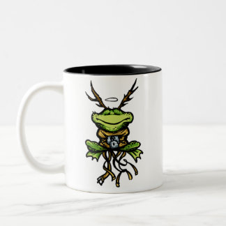 1One Day Frog Two-Tone Coffee Mug