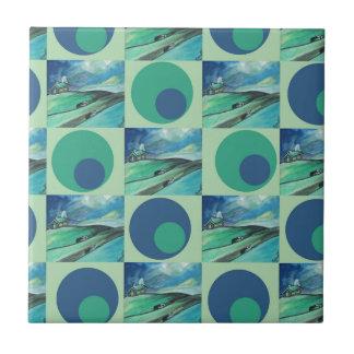 1One Imagination place pattern Ceramic Tile