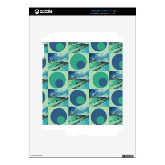 1One Imagination place pattern Decals For iPad 2